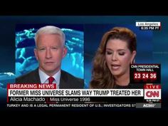 """New Hillary surrogate Alicia Machado on charges that she was an accomplice to murder: """"I'm not a saint girl"""" - Hot Air Hot Air"""