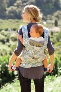 Step away from the three hundred dollar stroller and get this Ergo organic baby carrier. It's better for you, your wallet, your baby and the environment.