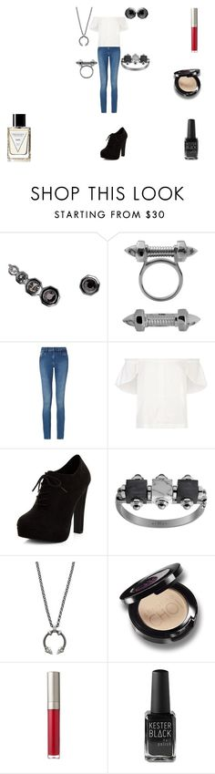 """""""Albis"""" by rascaldiva ❤ liked on Polyvore featuring Calvin Klein, Lucille and New Look"""