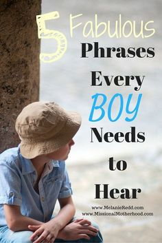 Are you raising boys? Here are some wise tips and encouraging suggestions for how you can speak to your sons. #sons #boys #parentingboys #raisingboys #men