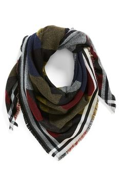 Free shipping and returns on BP. Colorblock Blanket Scarf at Nordstrom.com. Bold color blocking and fringe trim lend Southwestern-inspired style to this soft blanket scarf that's the perfect year-round accessory.