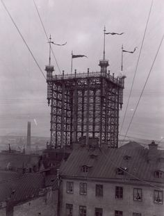 1887-1913 : Telephone tower, Stockholm