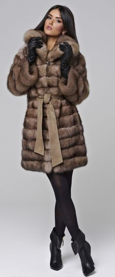 Fur Sable Coat