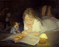 'Instead of sleep' 2006 Tatiana Deriy - realistic painter