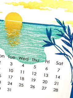 Sending Sunshine August Calendar