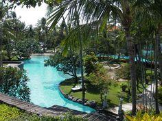 The Laguna Hotel, Nusa Dua, Bali. This hotel is fantastic... the pools are amazing. Love. #bali #holiday #pool