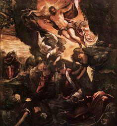 The Resurrection of Christ by Jacopo Tintoretto