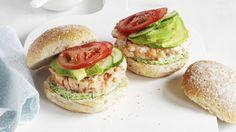 3-Ingredient Healthiest Salmon Burgers. #GoodHousekeepingTV