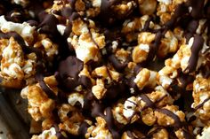 Crack Caramel Chocolate Corn