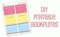 Hello, Good Gravy!: Free printable: DIY bookplates