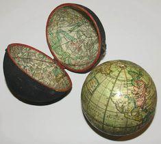 Ferguson 3-Inch Diameter Terrestrial Pocket Globe in Celestial Case