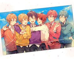 5 Anime, Anime Life, Anime Chibi, Anime Guys, Anime Art, Vocaloid, Fox Eyes, Chibi Boy, Anime Best Friends