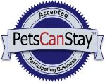 Pets Can Stay Seal - Participating Pet Friendly Businesses Register your petsitting business free of charge http://www.petscanstay.com/list-with-us-petsitters.php#