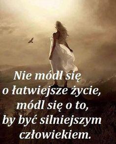 Módl się o siłę Motto, Christianity, Humor, Quotes, Movies, Movie Posters, Woman, Polish, Historia
