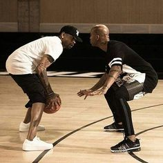 Allen Iverson vs Stephon Marbury