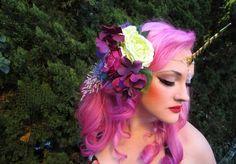 Pink Unicorn by Lillyxandra