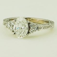 Vintage Ring Scroll Setting | Brilliant Earth Engagement Rings
