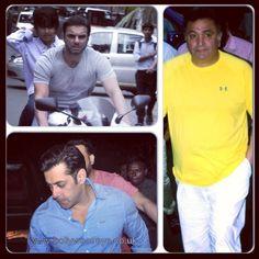 #SalmanKhan #SohailKhan #RishiKapoor and other #Bollywood celebrates #Ganesh #Chaturthi 2013 www.bollywoodeye.co.uk #bollywoodactor #india #hindimovie #bollywoodeye #bollywoodceleb