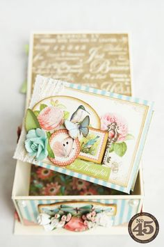 Boxed Album by Arlene Cuevas  (040914)  designer's site:  http://butterflykisseswithlove.blogspot.ca/2014/04/papercrafters-library-feature-altered.html