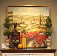Savvy Seasons By Liz Summer   Savvy Seasons by Liz: Dining Room Accessorizing - Tuscan Style!