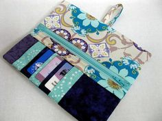 Beginner  Wallet PDF Pattern  Easy project by CandyCornerQuilting, $6.50