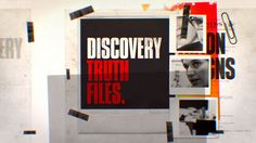 Brand Pack para Discovery Truth Files, serie de IDs para Discovery Channel.