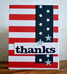 Card: Thanks