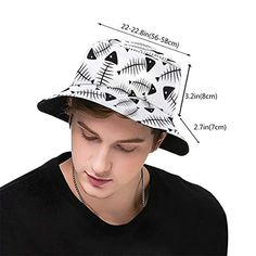 Hat Patterns To Sew, Easy Sewing Patterns, Cool Bucket Hats, Types Of Hats, Sewing School, Fancy Hats, Hat Sizes, Free Sewing, Sun Hats