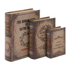 Uma 3-Piece Classics Bookbox Set - Beyond the Rack