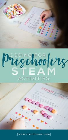 How To Produce Elementary School Much More Enjoyment Coding For Preschoolers, Steam Activities For Preschoolers, Preschool Valentines Day, Stem For Kids, Math Activities For Kids, Steam Activities, Valentines Day Activities, Kids Learning, Library Activities, Stem Learning, Steam For Preschool, Preschool Science, Preschool Ideas