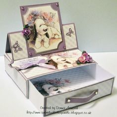 Crafter's Companion USA Information Blog : Tutorial: Barkley Drawer Easel Card