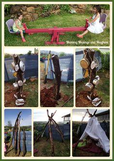 Easy Budget friendly DIY ideas for outdoors - Mummy Musings and Mayhem