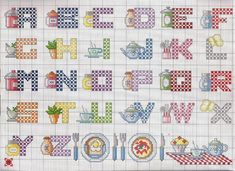 """Photo from album """"алфавит"""" on Yandex. Alphabet Board, Alphabet And Numbers, Cross Stitch Alphabet, Cross Stitch Patterns, All Craft, Crafts For Kids, Images Aléatoires, Plastic Canvas Letters, Sewing Art"""