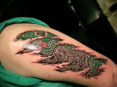 Not sure if I would ever get a biomech tat, but I like the circuit board idea