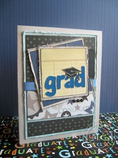 scrapped gradution cards | Scrappin Cookie: Graduation Cards
