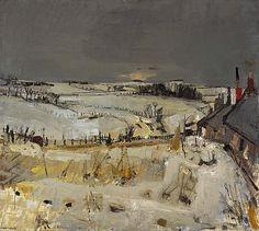 Snow, Joan Eardley (about 1958)