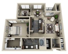Lodge at Foxborough Floor Plans and Pricing | UDR Apartments