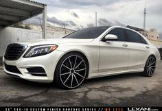 Mercedes S550 on CSS-10
