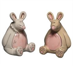 Hunny Bunnies Salt And Pepper Shakers #AnimalWorld