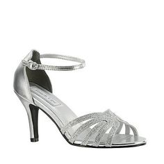 2459051048e1 Wedding Shoes And Bridal Shoes  Silver Glitter 2 5 8 High Heel Women S Prom