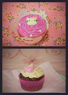 Party cupcakes for girls