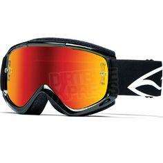 2015 Smith Fuel V.1 Max Goggles - Black Mirror