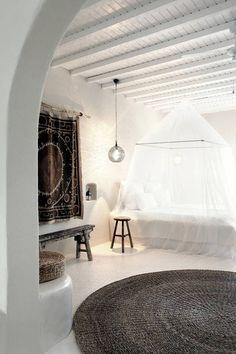 Un espectacular hotel en Mykonos | Bohemian and Chic