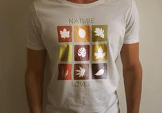 Nature Lover's Short-Sleeve T-Shirt. Gift for nature lovers. This t-shirt makes for a great staple! It has a classic fit (not form-fitting) with a thick cotton fabric. Gifts For Nature Lovers, Custom T, Graphic Shirts, Fabric Weights, Sleeve, Prints, Mens Tops, T Shirt, Etsy