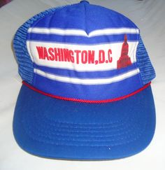 a00e0654 FOR JAMES ? -WASHNINGTON DC vintage snapback mesh trucker hat by  lilmissthrifty, $14.00