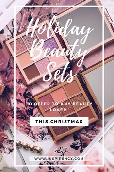#Christmas is coming! Yaaaaaaay! To all the #beauty lovers out there, this means one simple thing: #Sephora Holiday's Sets are finally for sale! I've been seeing out there a ton of blog posts about this topic which increase my willing to try out some new things. Beauty #sets are a great way to test new #products or a product range that you don't know. If you're looking to buy for yourself or offer a beauty set, see the full #review on inspirency.com Drugstore Makeup, Makeup Eyeshadow, Amazon Beauty Products, Eye Make Up, All Things Beauty, Makeup Organization, Makeup Junkie, Diy Beauty, Holiday Fun