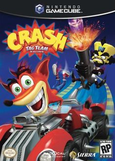 nice Crash Tag Team Racing - Gamecube Dr. Neo Cortex returns to his evil scheming in his dilapidated Iceberg Lair and hatches a sinister plan to challenge Crash to a seemingly friendly rac... http://gameclone.com.au/games/racing/crash-tag-team-racing-gamecube/
