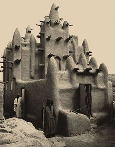 I'm guessing that this is a place of worship in Mali.