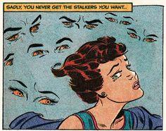 this isn't happiness™ - photo caption contains external link Vintage Pop Art, Vintage Comic Books, Vintage Cartoon, Vintage Comics, Comic Books Art, Comic Art, Art Pulp Fiction, Pulp Art, Old Comics