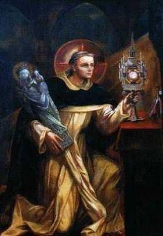 Jacek Odrowąż first Polish Dominican, a devotee of the Eucharist, and I am His devotee  https://www.youtube.com/watch?v=z6597F_xux4